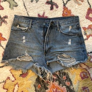 Articles of Society! Blue Jean Shorts